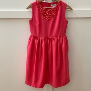 crewcuts collection wool beaded dress